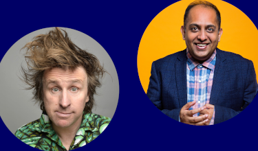 Milton Jones Supported By Anuvab Pal