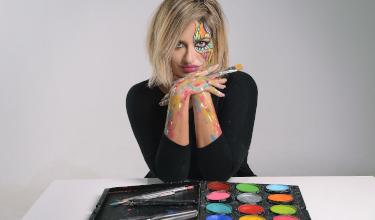 Nicole Aspradakis' Body Art